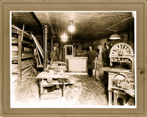 My grand father's cabinet making shop.