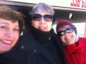 Marian, Kathy, and Me.