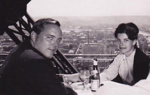 1965 In Paris on our honeymoon.