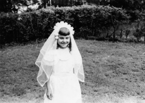 May 30, 1950.  My first Holy Communion